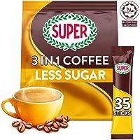 SUPER Less Sugar 3in1 Coffee, 35 sticks