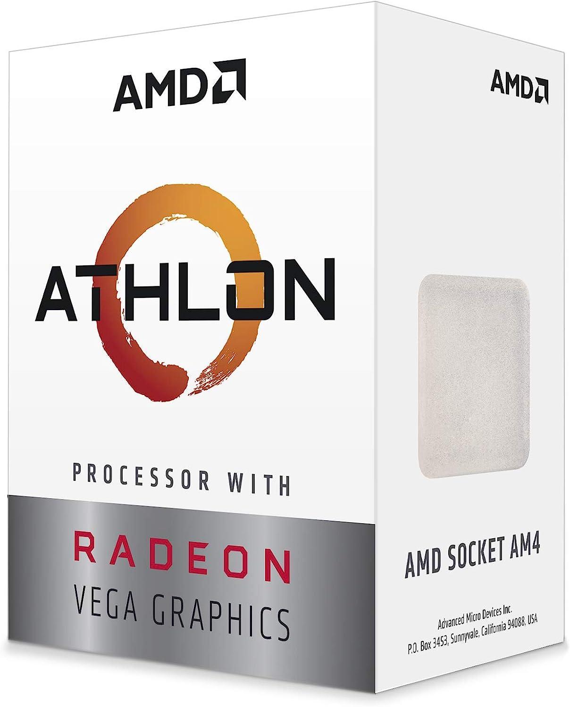 Amazon Com Amd Athlon 3000g 2 Core 4 Thread Unlocked Desktop Processor With Radeon Graphics Computers Accessories