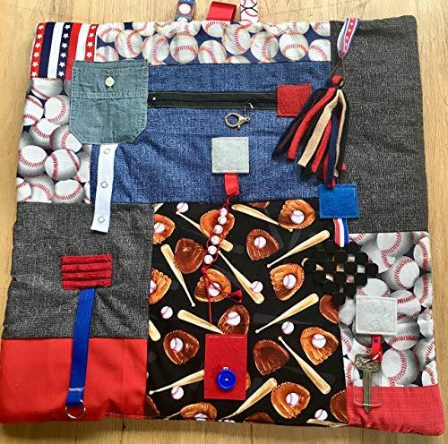 Fidget Blanket for Dementia   Fidget Quilt   Alzheimer