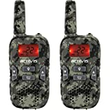 Retevis RT33 Kids Walkie Talkies with Flashlight Long Range Handheld Army Toys for Boys and Girls Gifts, Survival Gear…