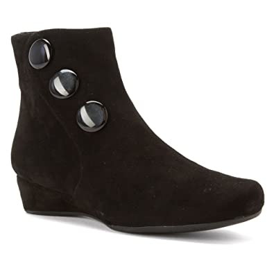 Vaneli Women's Moony Black Suede Boot