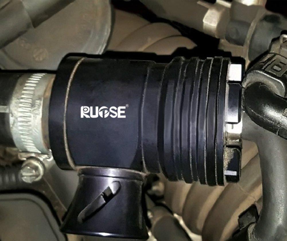 Rupse - Negro Blow Off Válvula recirculación Dump Válvula para Volkswagen GTI GOLF Audi Beetle Jetta A3, A4, A6, TT, 1.8T: Amazon.es: Coche y moto