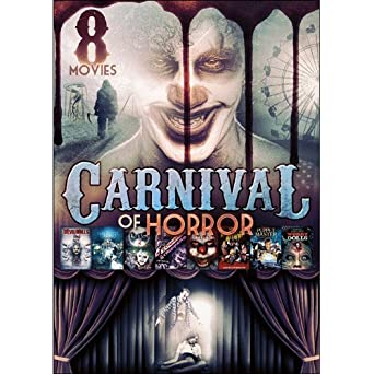 amazon com 8 movie carnival of horror michael kott kelli