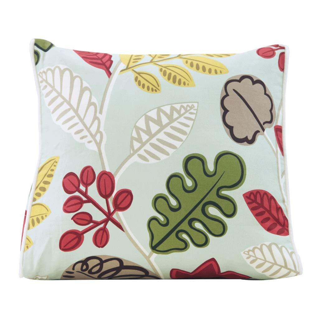 WXH Cushions Dreieck Kissen Sofa Bett Kissen Gartenpflanzen Kissen A+ A+ A+ (Farbe   1) B07GLP5GRJ Kopfkissenbezüge 913257