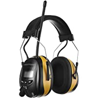 PROTEAR Digital AM FM Radio Headphones, Electronic Ear Protection Noise Reduction Safety Ear Muffs, Comfortable Hearing…