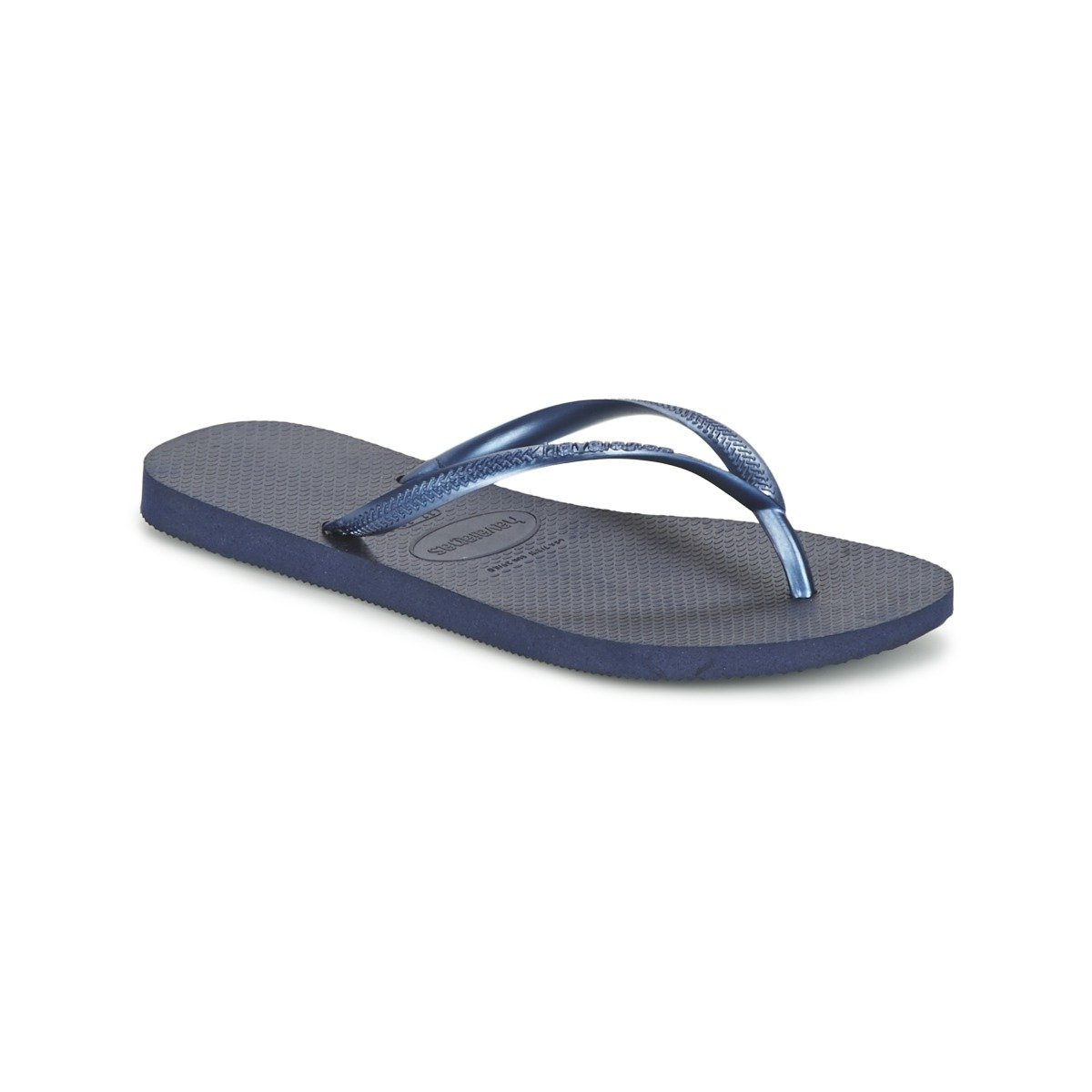 095a3159f0928d Havaianas Slim Womens Flip Flops - Navy Blue  Amazon.co.uk  Shoes   Bags