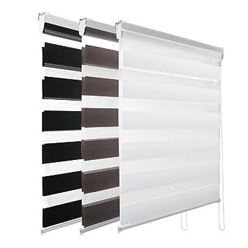 Kinlo 608090100 X 150 Cm Store Jour Nuit Décoration Fenêtre