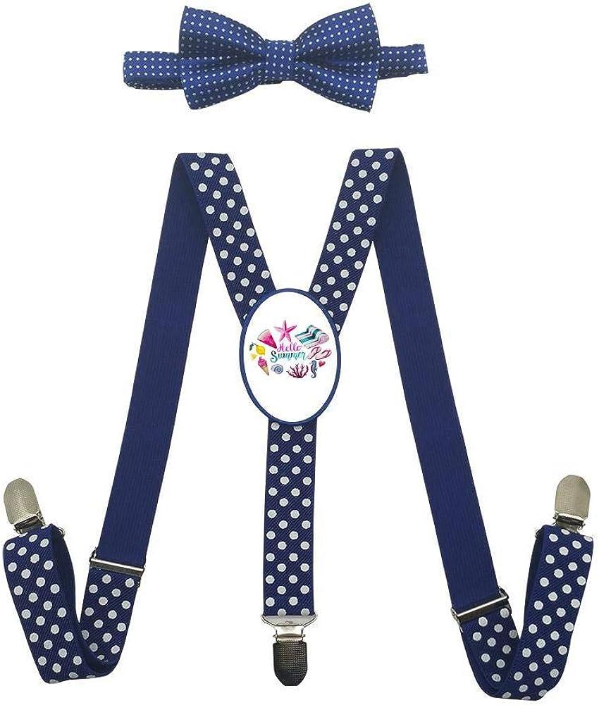 Hello Summer Childrens Fashion Adjustable Y-Type Suspension Belt Suit