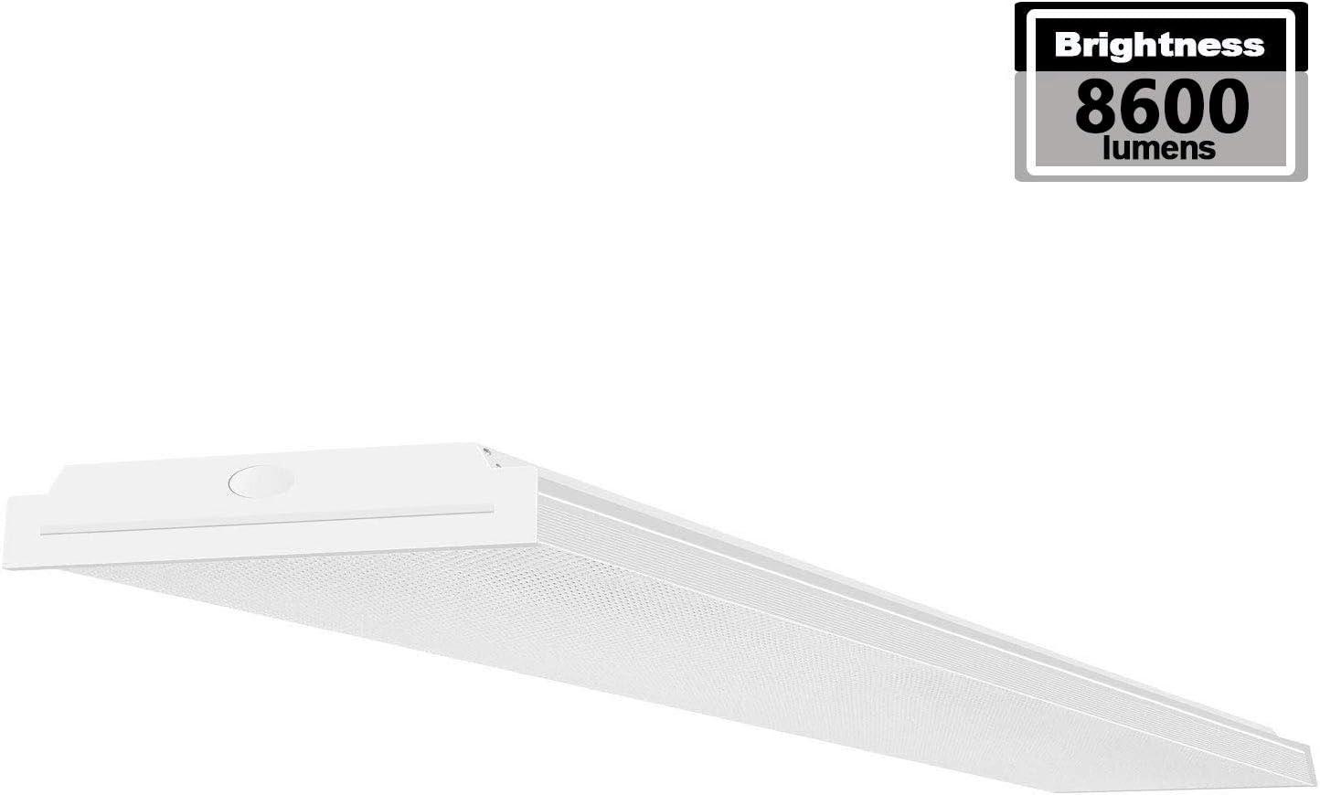 AntLux 4FT Ultra Slim LED Shop Light 72W Office Garage Ceiling Light Flush Mount