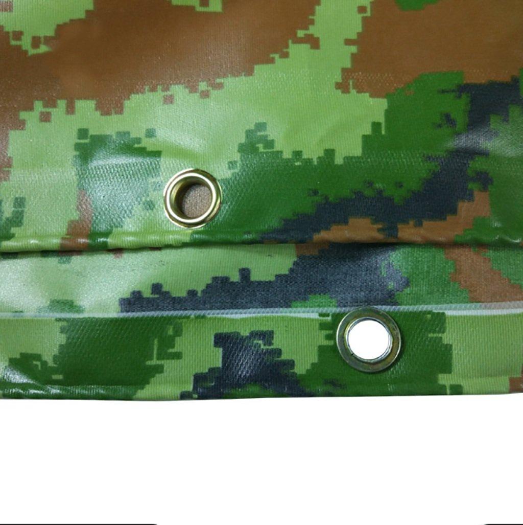SH-pb Wasserdichte Plane Camping Plane für Camping Plane Angeln Gartenarbeit Schützen Zelt Flachbett Brennholz Dach 450g   m² Dicke 0,38 MM 10 Größe erhältlich (größe   5m8m) fa378a