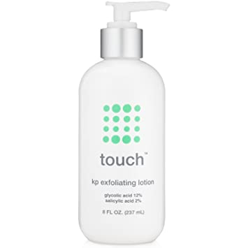 Touch Keratosis Pilaris Treatment with 12% Glycolic Acid & 2% Salicylic  Acid - AHA & BHA Exfoliating