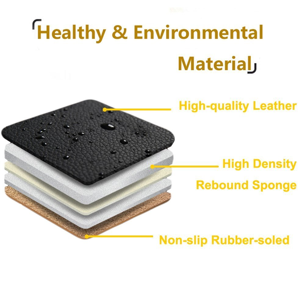 """Gray- Gray Row 58.3/"""" x 18.9/"""" Nonslip Rear Car Seat Cover Breathable Cushion Pad Mat for Vehicle Supplies with PU Leather"""