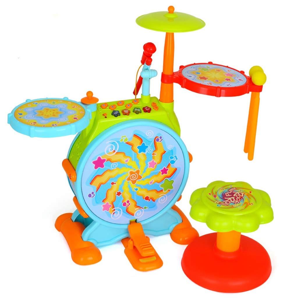 非常に高い品質 LIUFS-ドラム ジャズドラム大児童ドラムドラムドラムおもちゃ子供の音楽ドラム (色 : マルチカラー まるちから゜) LIUFS-ドラム マルチカラー まるちから゜ (色 : B07GQYVCY1, 3939 Surf&Snow:0495dc45 --- senas.4x4.lt