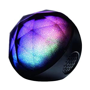 Shinehome Portable Colorful Night Lights Wireless Bluetooth Speaker Music Player with FM Radio TF and Remote Control