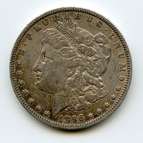 1896 O Morgan Silver Dollar $1.00 AU-50