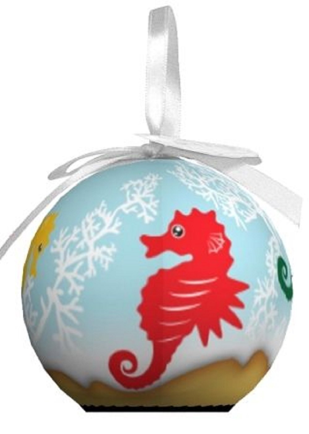 D&D Distrubutions D&D Blinking Animal Christmas Ornament with Extra Batteries (Black Bear)