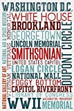 Washington DC - Typography
