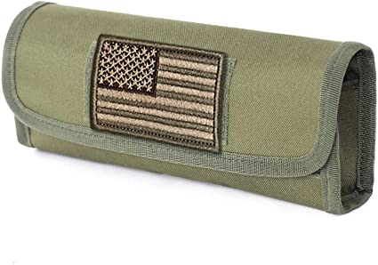 tactical hunting shotgun shell carrier holder 6 round military gun ammo pouch BC