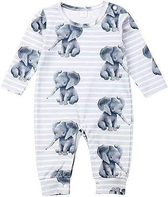 Pijama para Bebé Niño Niña NONO en Mamelucos de Algodón ...