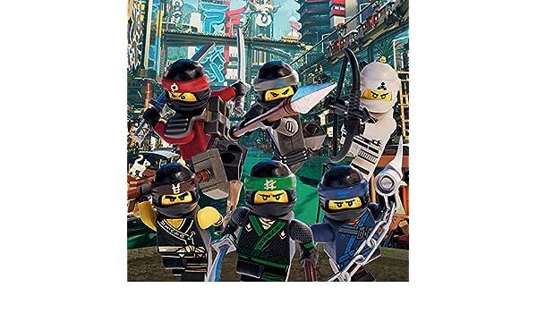 Lego Ninjargo película Ninja Attack Lienzo,, 30 x 30 cm ...