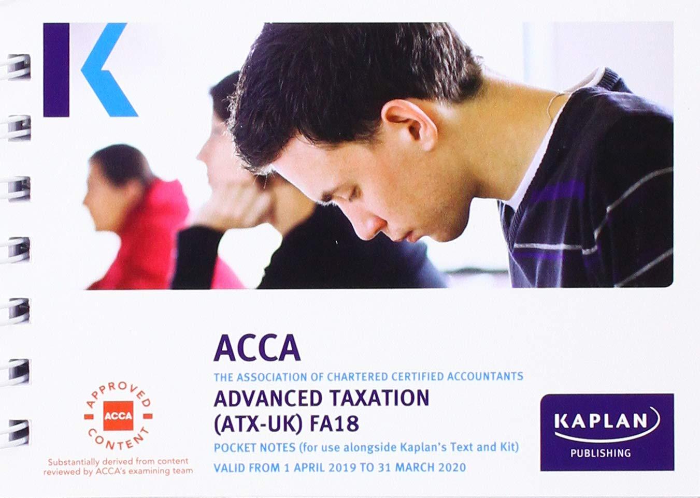 ADVANCED TAXATION (ATX) (FA18) - POCKET NOTES (Acca Pocket