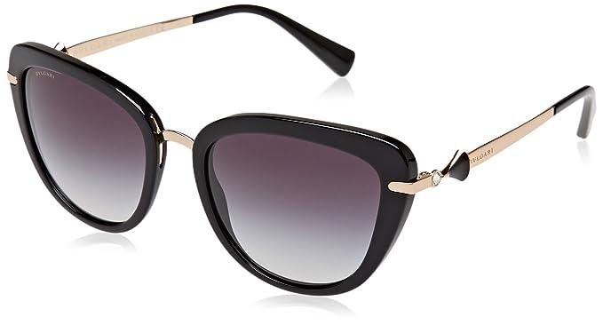 Amazon.com: Bvlgari Mujer bv8193b anteojos de sol: Clothing
