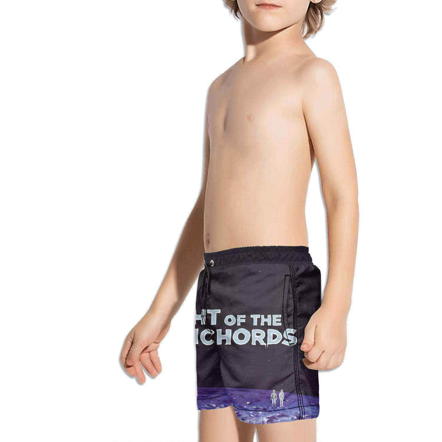 ughbhjnx Kids Ruched Stretch Board Sporty Swimming Trunks Solid Board Shorts