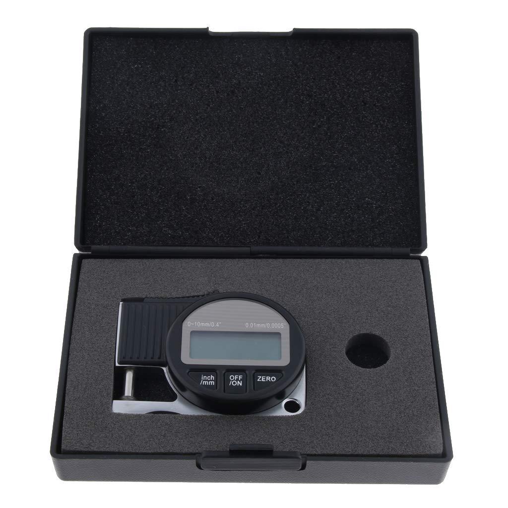 perfeclan Medidor de Espesor Electr/ónico Mini LCD Port/átil Medidores de 0.01 Mm