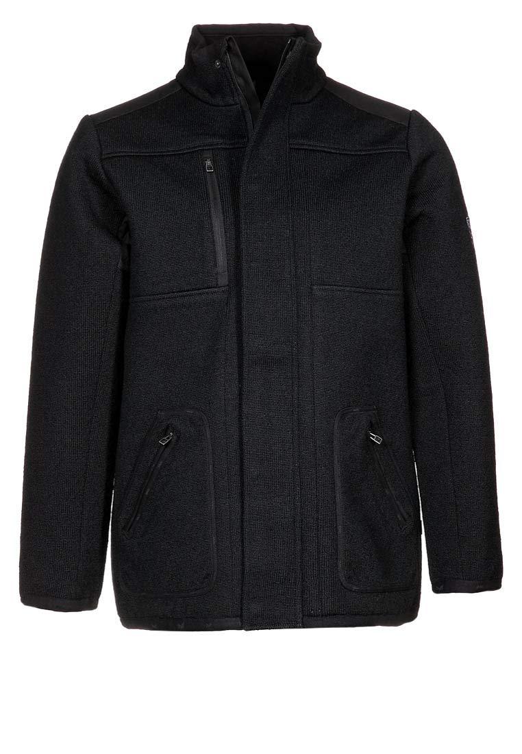 Dale of Norway Davos Masculine Jacket WP - Winddichte, Wasserabweisende Wolljacke für Herren (Farbe  schwarz, Größe  L)