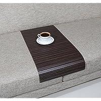 Sofa Tray Table - Long (Tago Zebrano), Sofa Arm Tray, Armrest Tray, Sofa Arm Table, Couch Tray, Coffee Table, Sofa Table,Wood Tray,Wood Gifts