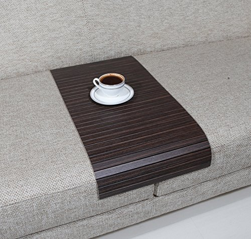 Sofa Tray Table - Long ( Tago Zebrano ), Sofa Arm Tray, Armrest Tray, Sofa Arm Table, Couch Tray, Coffee Table, Sofa Table,Wood Tray,Wood Gifts