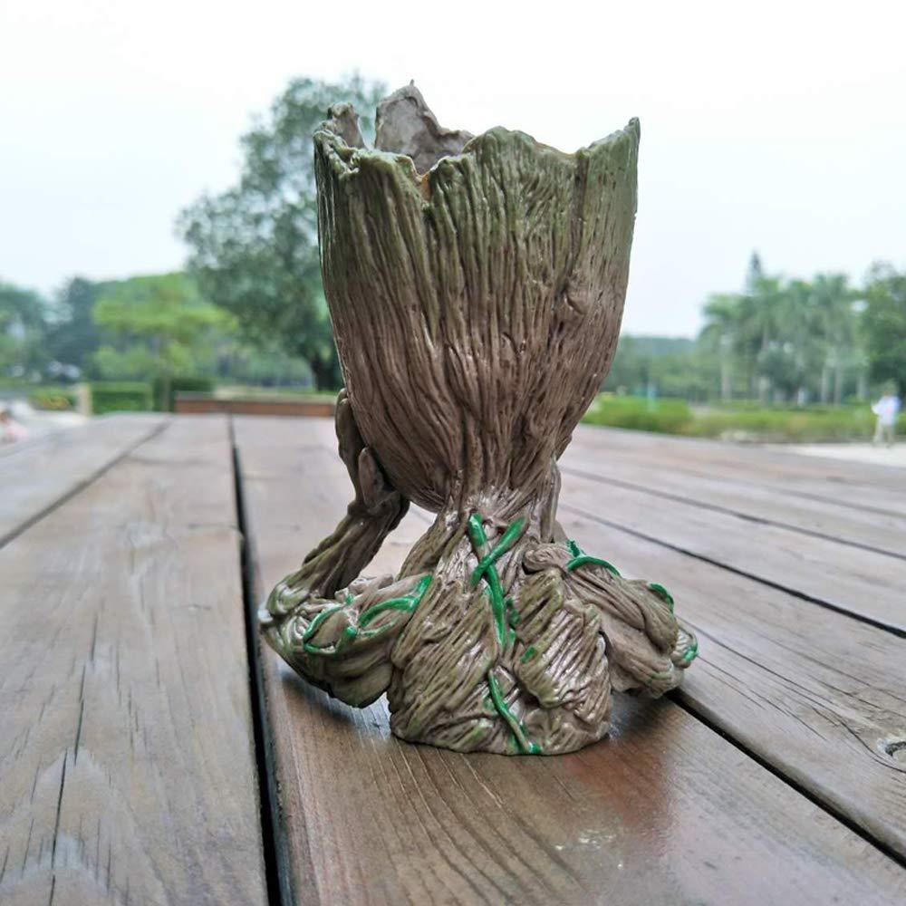 Amberjack Bebe Groot Planteur Mignon Petit Succulent Fleur Pot Stylo