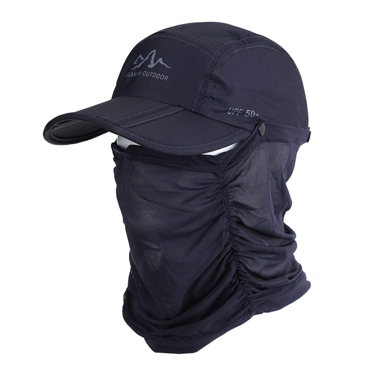 WOSOSYEYO Sombrero de béisbol Plegable de Secado rápido Moda ...