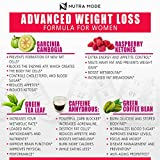 Natural Weight Loss Pills for Women-Best Diet Pills that Work Fast for Women-Appetite Suppressant-Thermogenic Belly Fat Burner-Carb Blocker-Metabolism Booster Energy Pills-Weight Loss Supplements-60ct