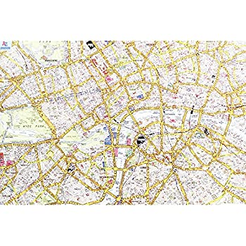 Amazon city of london map jigsaw puzzle 1000 pieces toys games city of london map jigsaw puzzle 1000 pieces gumiabroncs Image collections