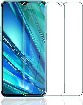 ELYCO [2 Piezas] Protector Pantalla para Realme 5 Pro, [9H Dureza] [Alta Definicion] Anti-caída/Anti-rasguños Cristal Templado Vidrio Templado para Realme 5 Pro [Libre de burbuj]: Amazon.es: Electrónica