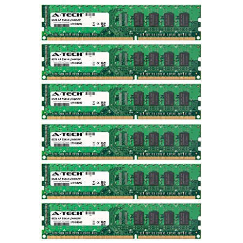 24GB KIT (6 x 4GB) For Dell Studio Desktop Series XPS 435 XPS 9000. DIMM DDR3 NON-ECC PC3-8500 1066MHz RAM Memory. Genuine A-Tech Brand.