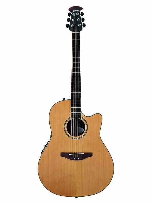 Ovación celebridad cc29s-4 C Electroacústica guitarra, cedro ...