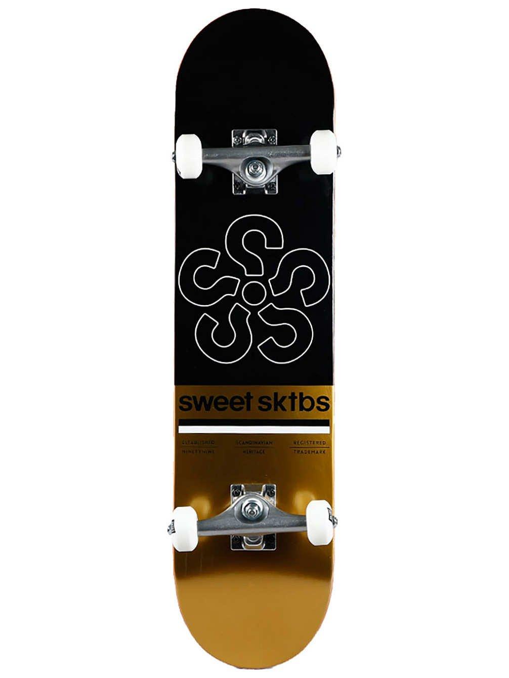 uk availability 210b7 a9e2b SWEET SKTBS SKTBS SKTBS Skateboard Complete Deck Cycle nero 7.5 Complete, a  tinta unita, Taglia unica B07B6SJZ1Z Parent   Grande Vendita Di  Liquidazione ...