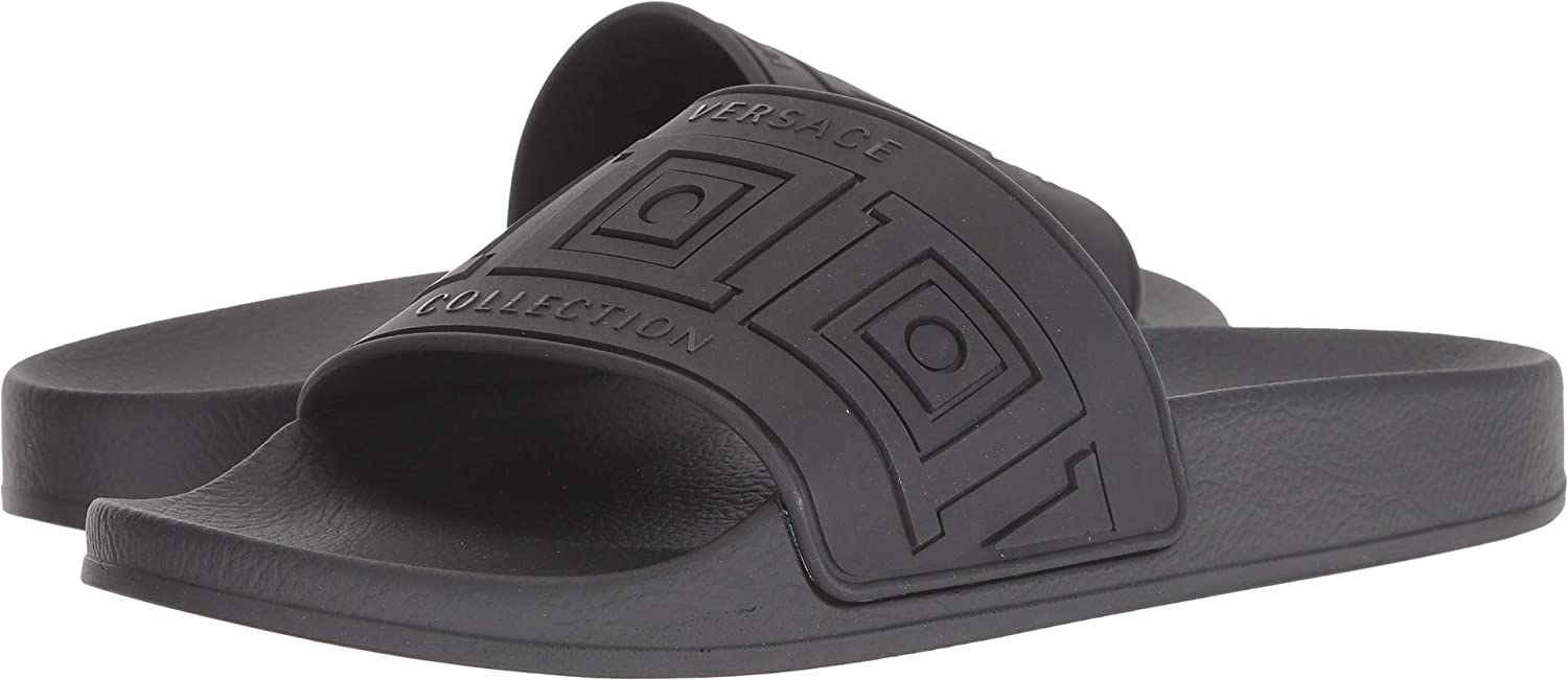 163a3efb1f1f Amazon.com  Versace Collection Mens Rubber Pool Slide  Shoes