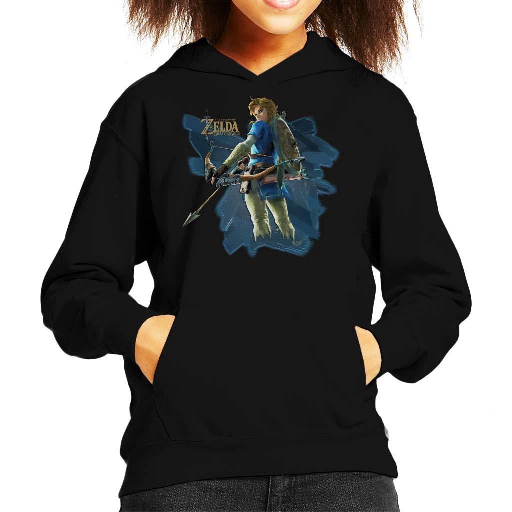 Link Zelda Breath of The Wild Arrow Kids Hooded Sweatshirt: Amazon.es: Ropa y accesorios