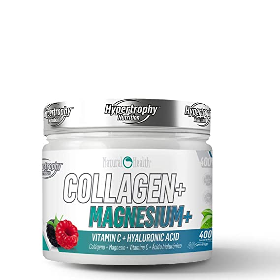 Natural Health Collagen Magnesium - 400 g - Sabor: Frutas del bosque: Amazon.es: Salud y cuidado personal