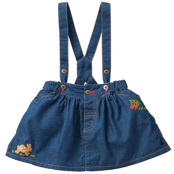 b02a481e3 Oilily - Falda - Blusa - para niña azul 3 años: Amazon.es: Ropa y ...