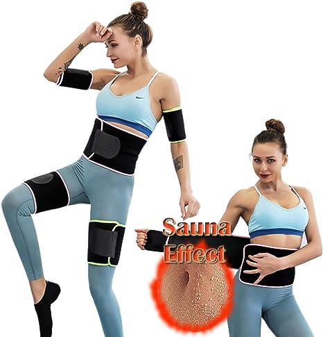 2PCS Arm Trimmer Sweat Sauna Belt Shaper Fat Burner Body Slimmer Cincher Trainer