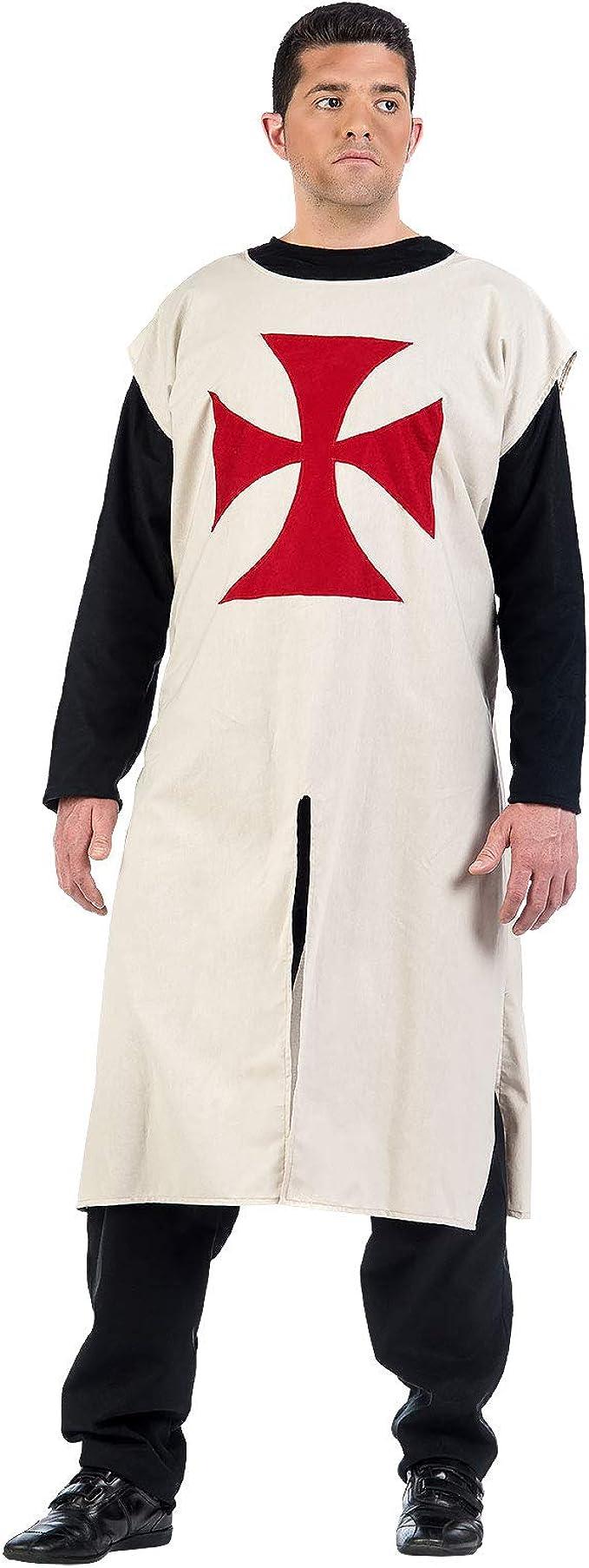 Limit Sport Disfraz o Túnica de Caballero Templario para Hombre ...