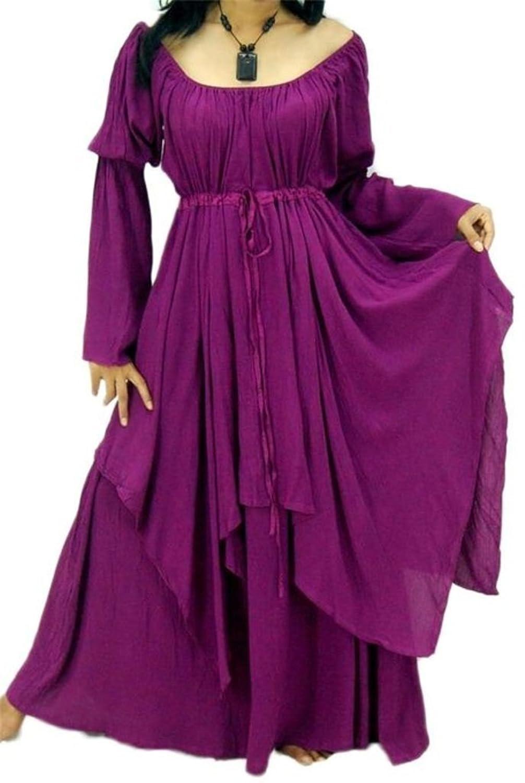 Renaissance Peasant Dress Layered