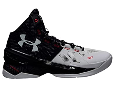 d939fad33214 1259007-101 MEN UA CURRY 2 UNDER ARMOUR WHT BLK MSV