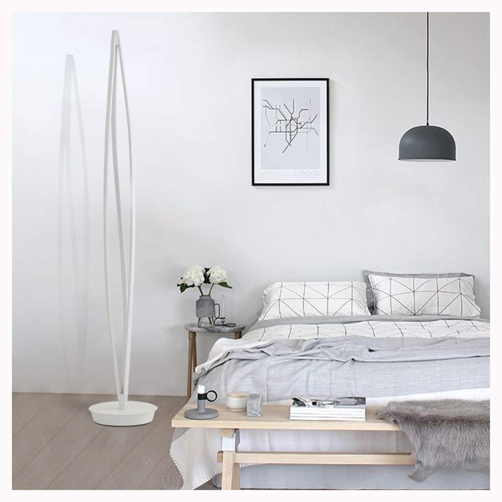 JDGK フロアランプ北欧シンプル人格クリエイティブリビングルーム寝室研究リモコンLEDライト -9811フロアスタンドランプ B07Q7T3FDJ