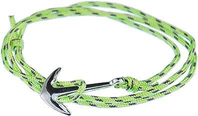 Miniblings Pulsera de Anclaje Cuerda Colgante de Cuerda de ...