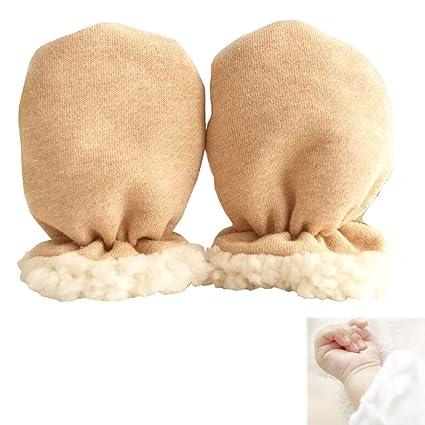 1 par muchachas de los bebés de invierno guantes calientes del ...